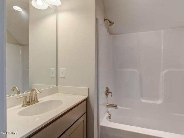 Bathroom featured in the Midland II By Windsor Homes in Wilmington, NC