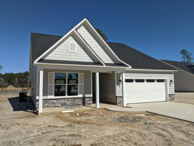 Exterior featured in the Pinehurst III By Windsor Homes in Wilmington, NC