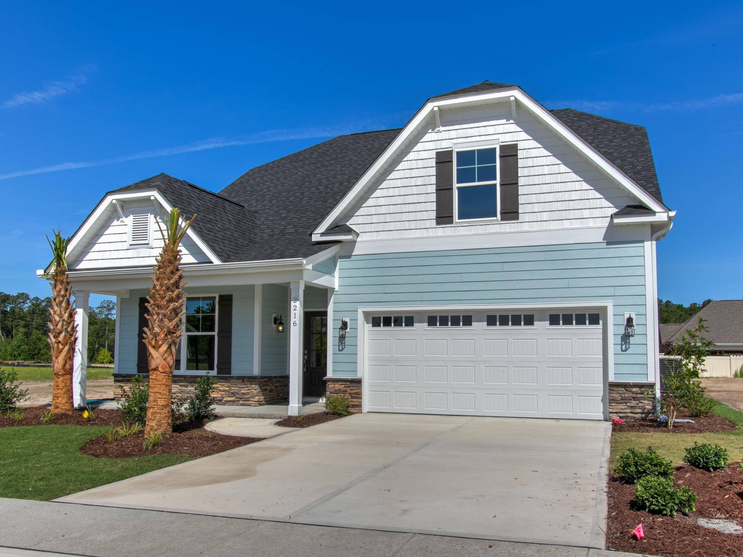 Exterior featured in the Belhaven III By Windsor Homes in Wilmington, NC