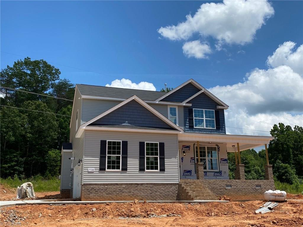 Exterior featured in the Stoddard II By Windsor Homes in Greensboro-Winston-Salem-High Point, NC