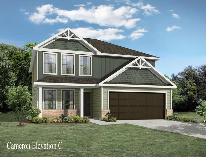 Exterior featured in the Cameron By Windsor Homes in Greensboro-Winston-Salem-High Point, NC