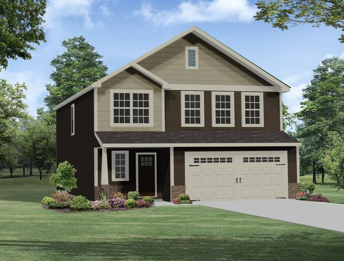 Exterior featured in the Columbia By Windsor Homes in Greensboro-Winston-Salem-High Point, NC