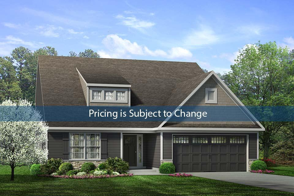 Exterior featured in the Cotswold I By Windsor Homes in Greensboro-Winston-Salem-High Point, NC