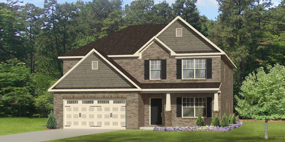 Exterior featured in the Seagrove I By Windsor Homes in Jacksonville, NC