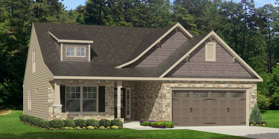 Exterior featured in the Somerset III By Windsor Homes in Jacksonville, NC