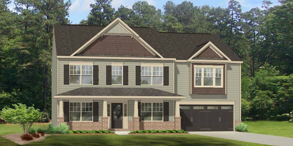 'Evansfield' by Windsor Homes-Triad in Greensboro-Winston-Salem-High Point