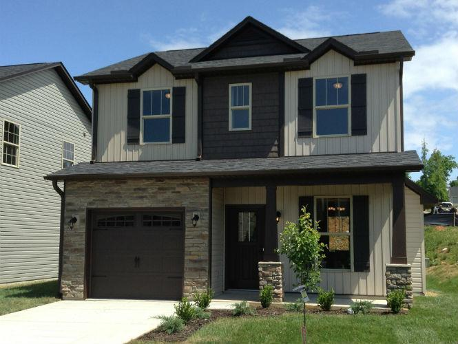 Exterior featured in the Lancaster By Windsor Built Homes in Asheville, NC