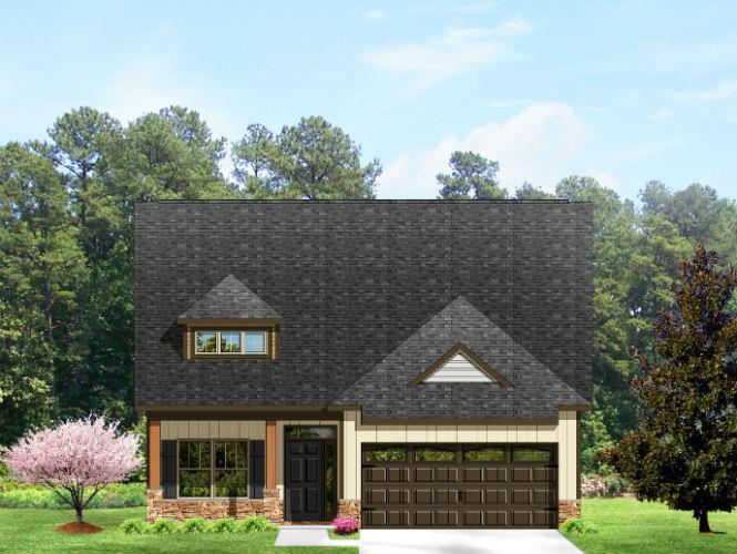 Exterior featured in the Milton By Windsor Built Homes in Asheville, NC