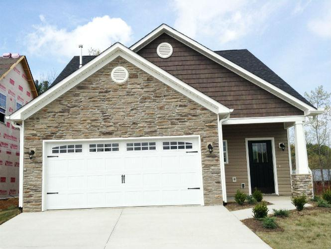 Exterior featured in the Somerset By Windsor Built Homes in Asheville, NC