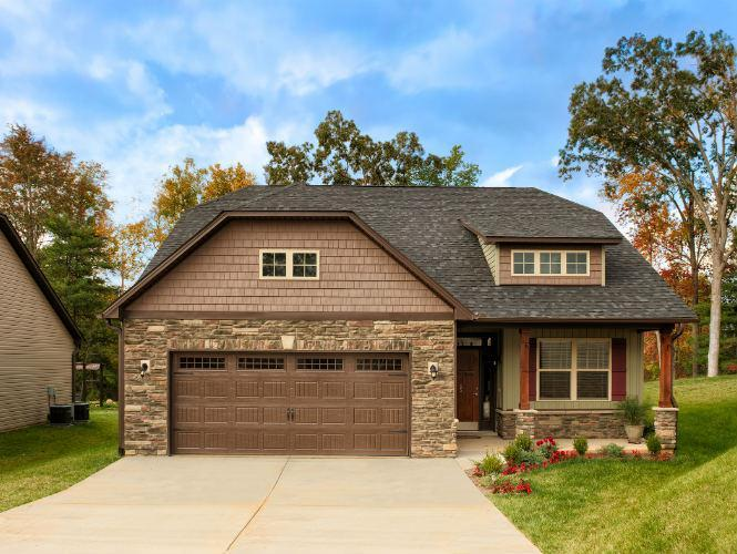 Exterior featured in the Hampton By Windsor Built Homes in Asheville, NC