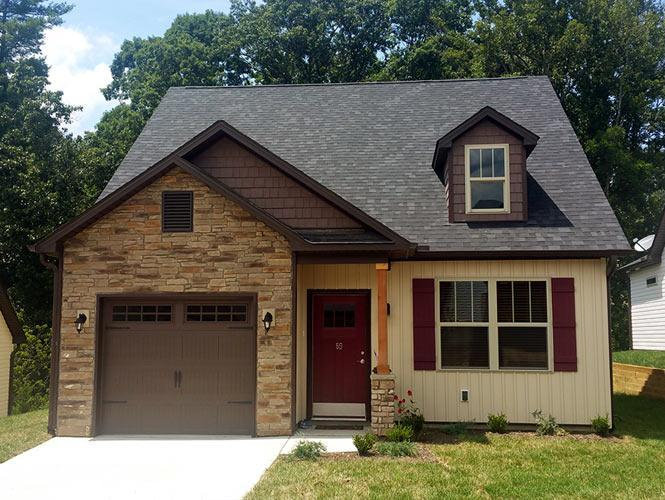 Exterior featured in the Camden By Windsor Built Homes in Asheville, NC