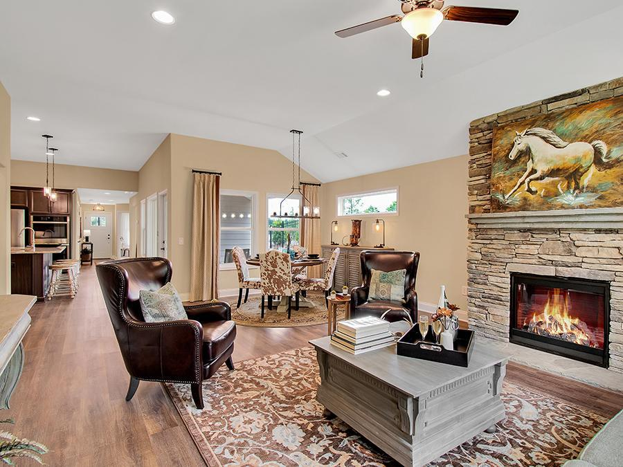 Living Area featured in The Bailey By Windsong Properties in Atlanta, GA