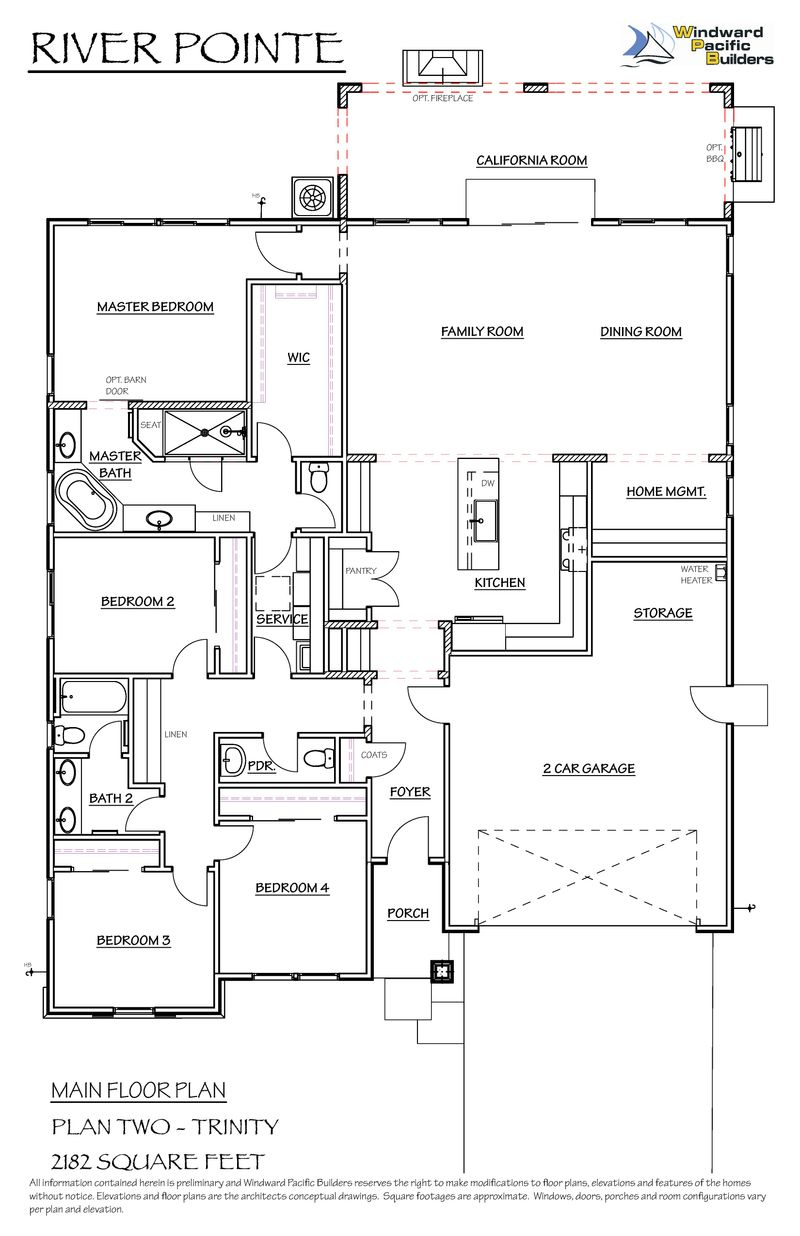The Trinity Model At 840 River Pointe Circle