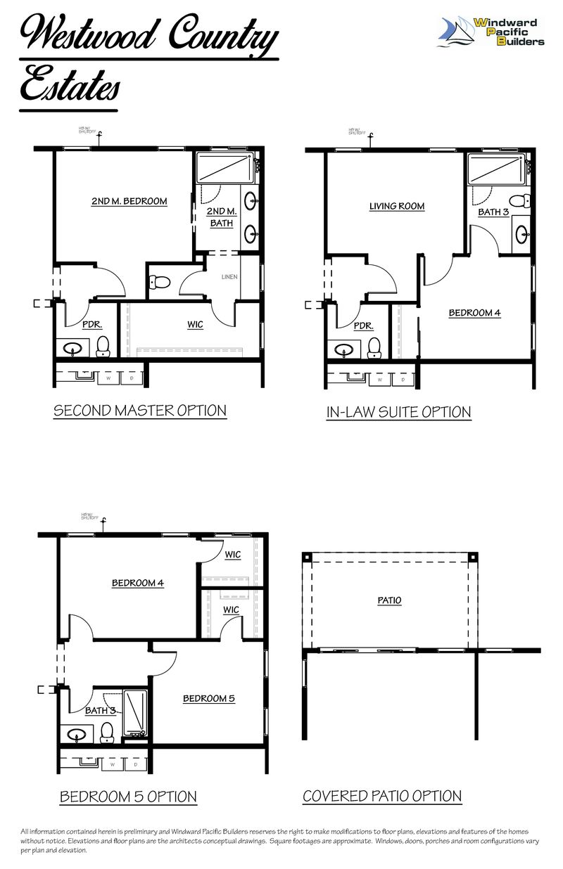 Cottonwood Home Plan by Windward Pacific Builders in