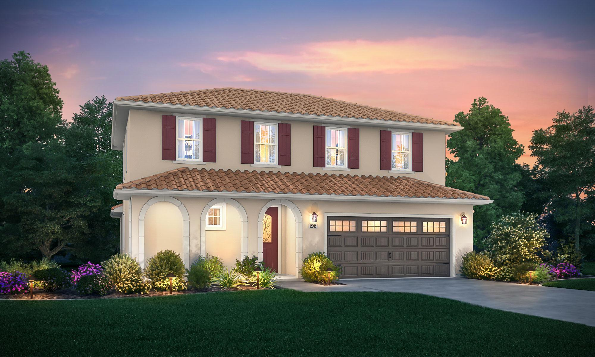 Exterior featured in the Syrah By Windward Pacific Builders in Stockton-Lodi, CA