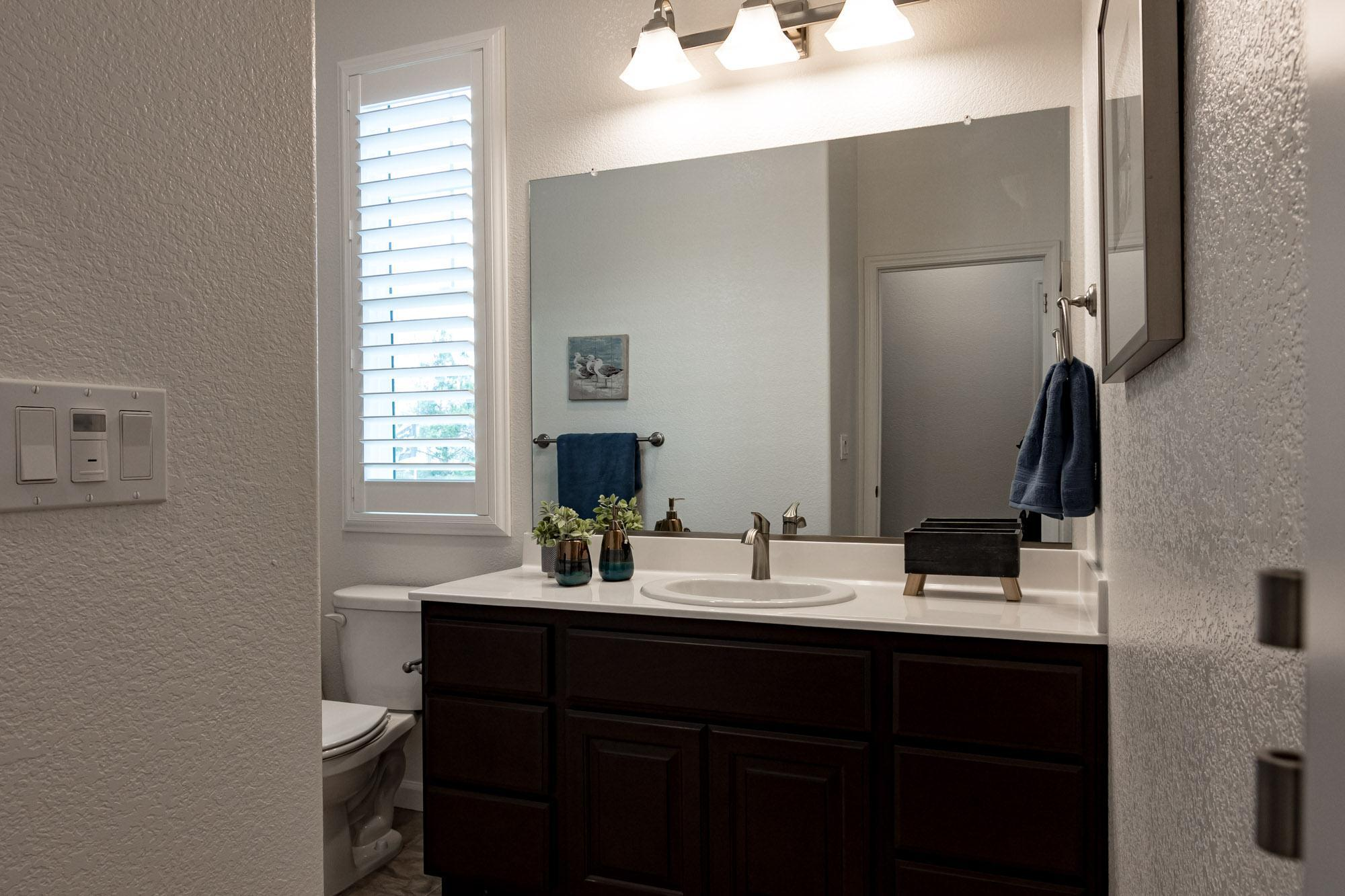 Bathroom featured in the Rosewood By Windward Pacific Builders in Merced, CA