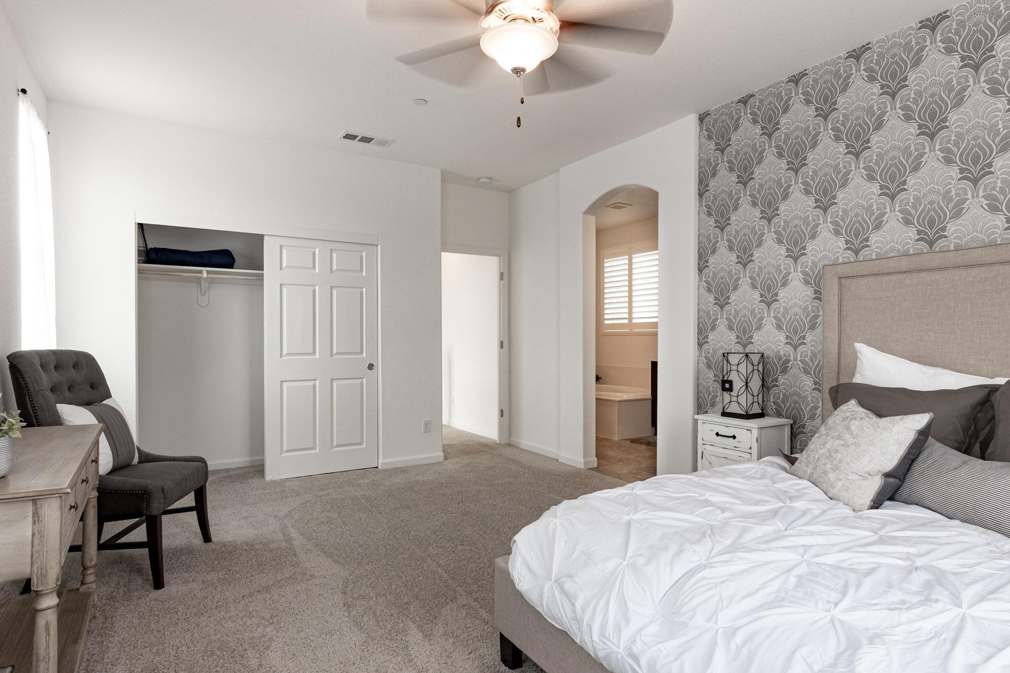 Bedroom featured in the Rosewood By Windward Pacific Builders in Merced, CA