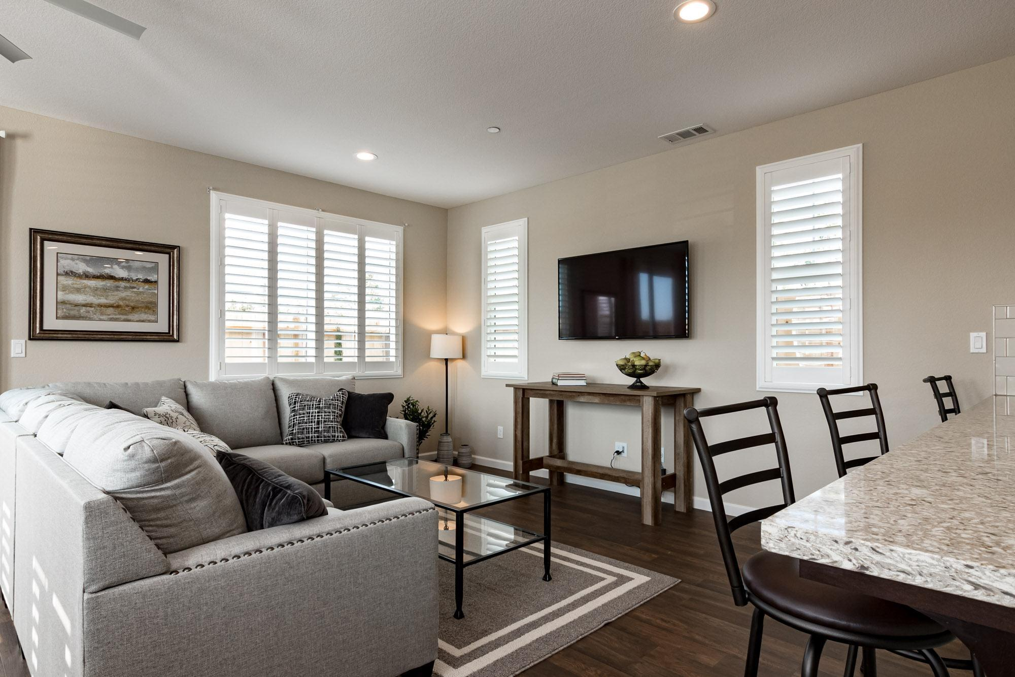 Living Area featured in the Rosewood By Windward Pacific Builders in Merced, CA