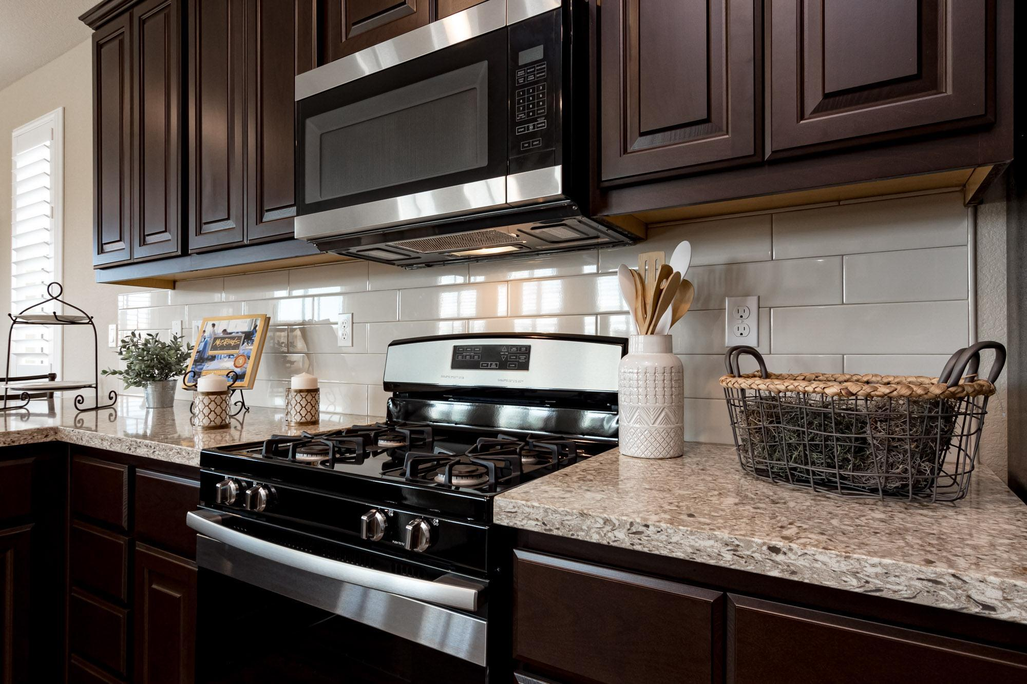 Kitchen featured in the Rosewood By Windward Pacific Builders in Merced, CA