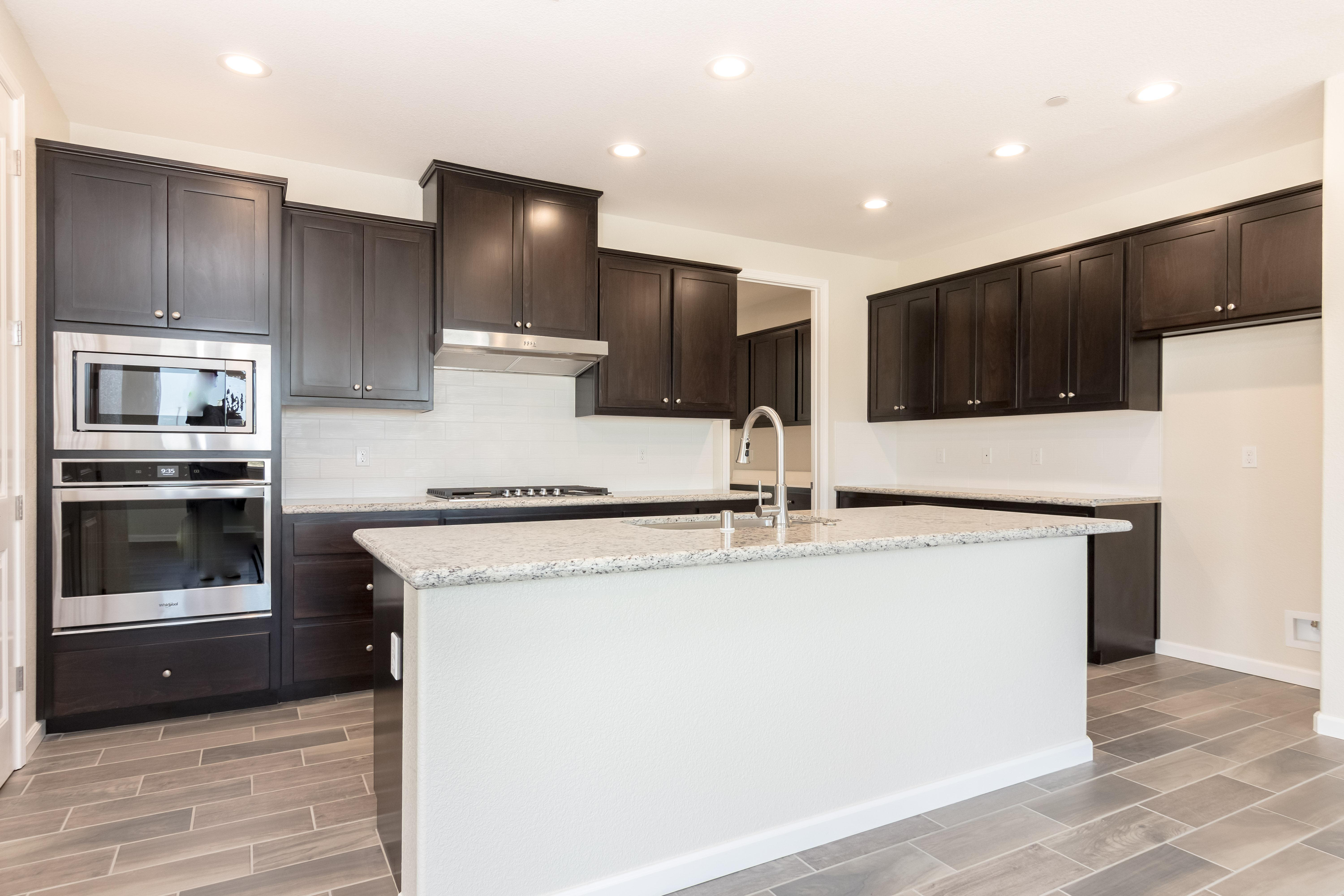 Kitchen featured in The Rubicon By Windward Pacific Builders in Modesto, CA