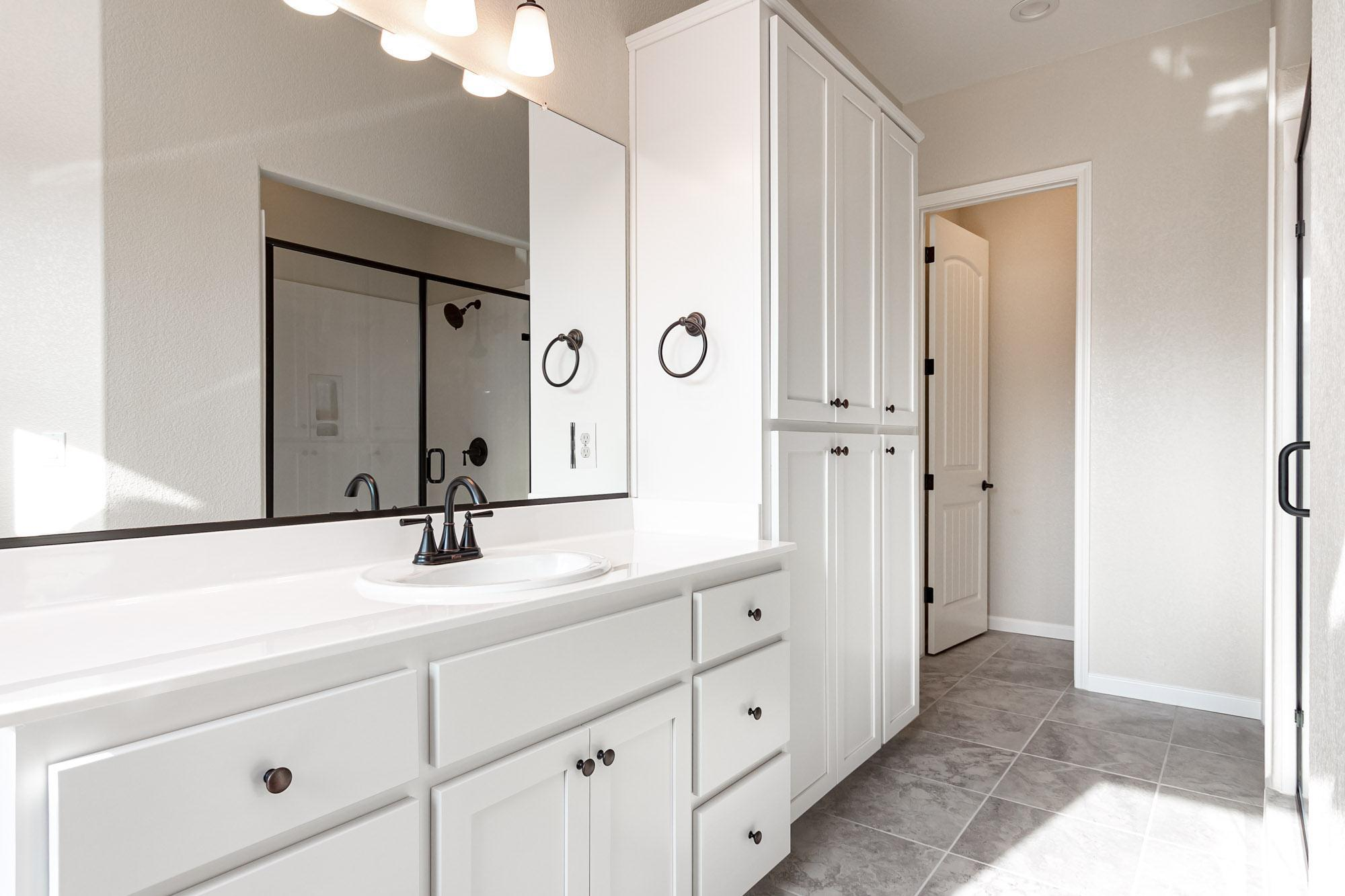 Bathroom featured in The Trinity By Windward Pacific Builders in Modesto, CA