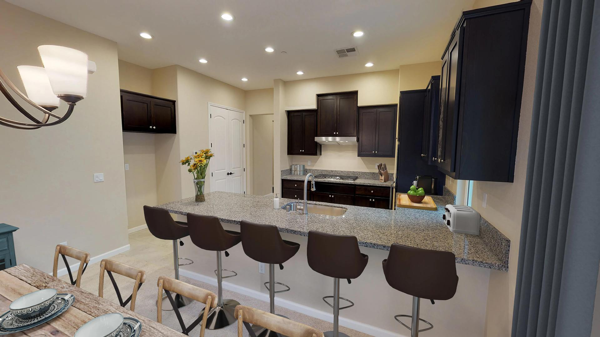 Kitchen featured in The Carmel By Windward Pacific Builders in Modesto, CA