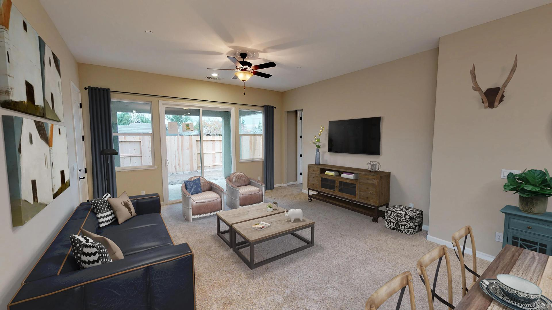 Living Area featured in The Carmel By Windward Pacific Builders in Modesto, CA