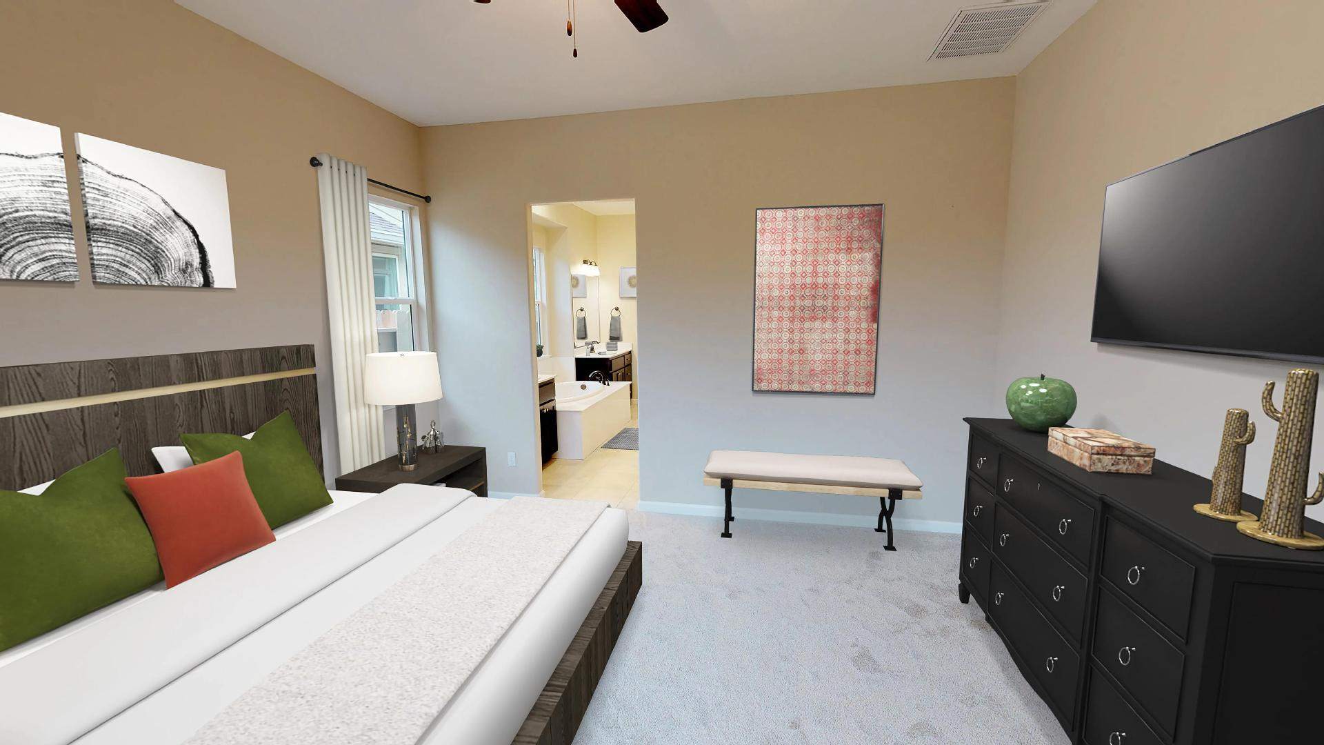 Bedroom featured in The Carmel By Windward Pacific Builders in Modesto, CA