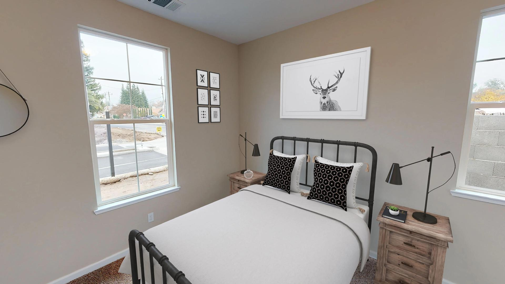 Bedroom featured in The Rubicon By Windward Pacific Builders in Modesto, CA