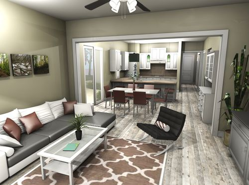 Greatroom-and-Dining-in-The Carmel-at-River Pointe-in-Oakdale