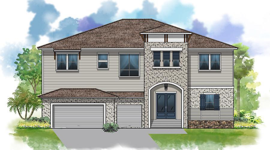 Exterior featured in The Blue Heron By Winway Homes in Tampa-St. Petersburg, FL