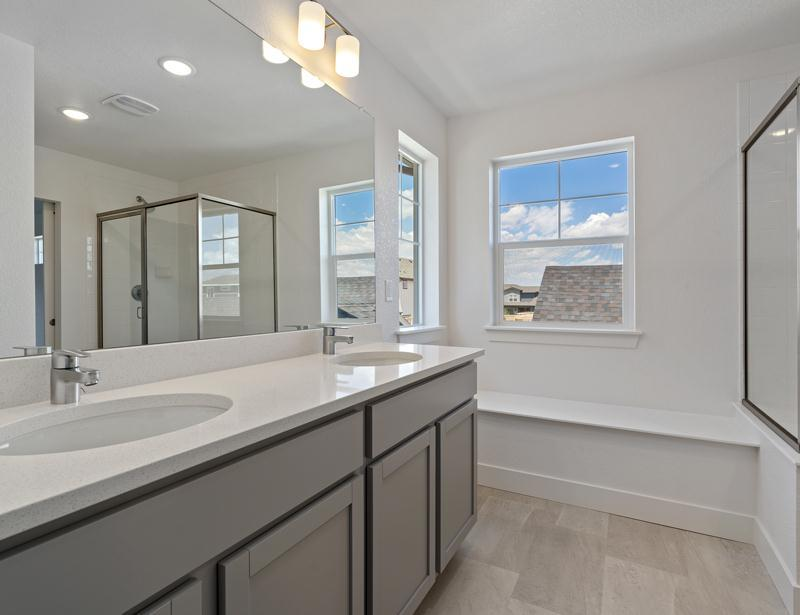 Bathroom featured in the Aspen By Wonderland Homes in Fort Collins-Loveland, CO