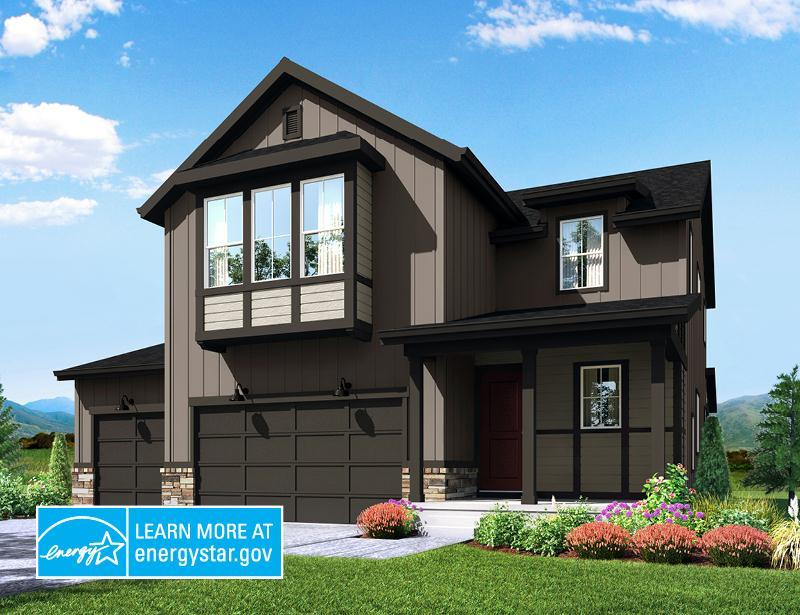 Exterior featured in the Spruce By Wonderland Homes in Denver, CO