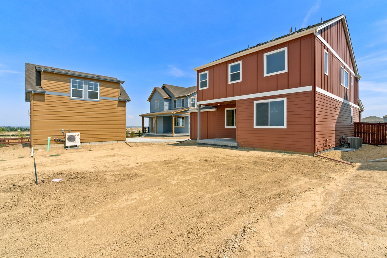 Exterior featured in the Clover By Wonderland Homes in Greeley, CO