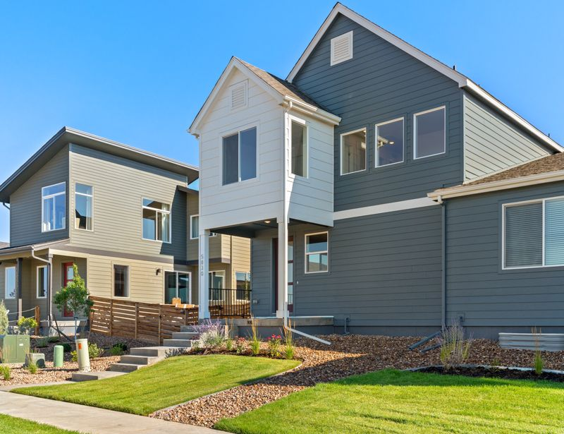 Exterior featured in the Sage By Wonderland Homes in Fort Collins-Loveland, CO