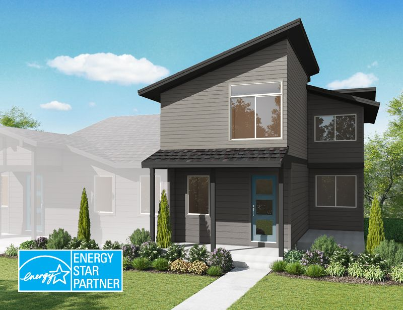 Exterior featured in the Thyme By Wonderland Homes in Fort Collins-Loveland, CO