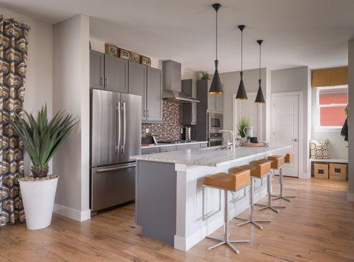 Kitchen-in-Edward-at-Prominence at Stapleton-in-Denver
