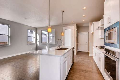 Kitchen-in-Welton-at-Portrait at Stapleton-in-Denver