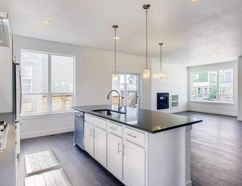 Kitchen-in-Henry-at-Prominence at Stapleton-in-Denver