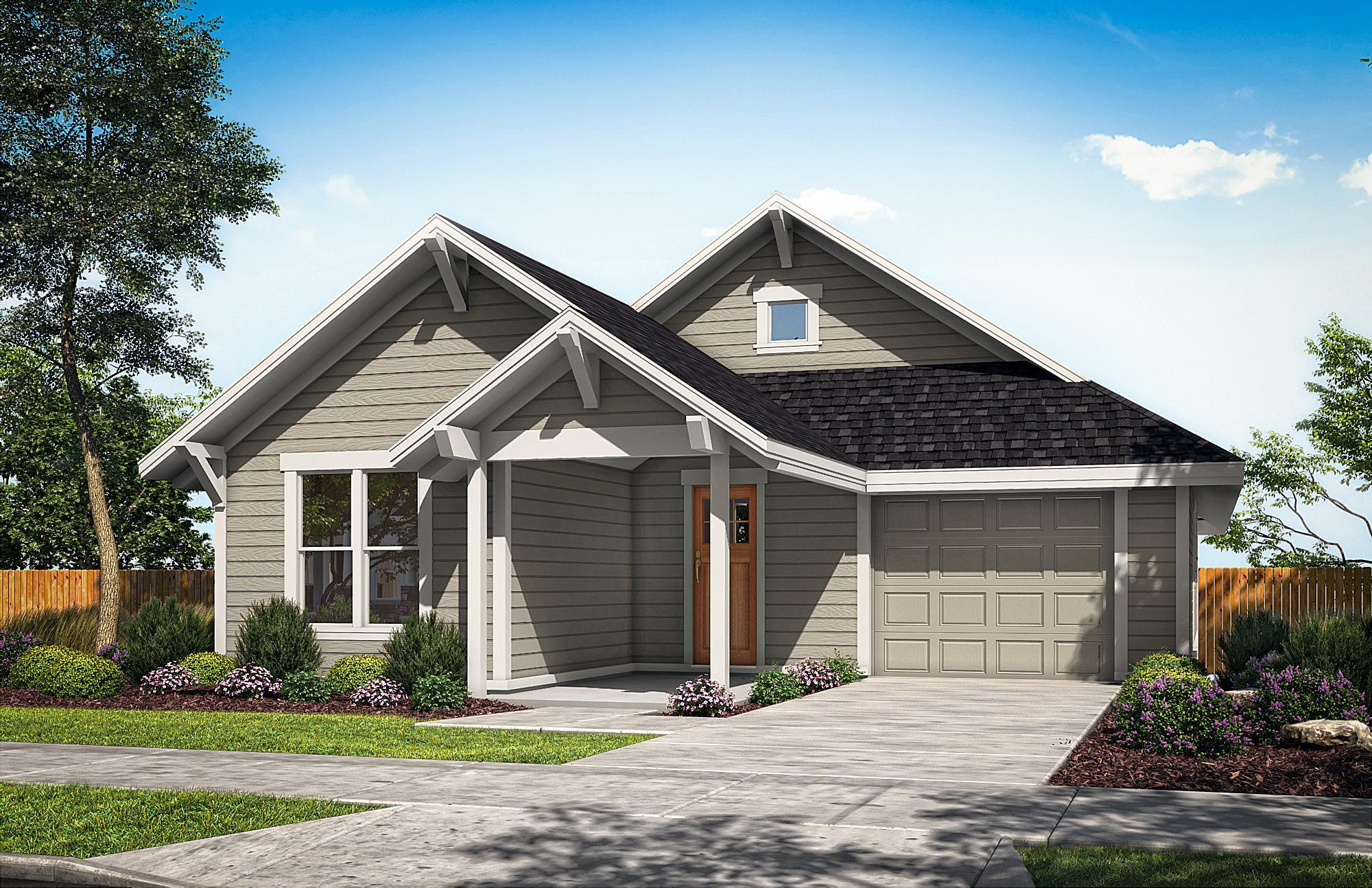 Exterior featured in The Douglas By Woodhill Homes in Central Oregon, OR