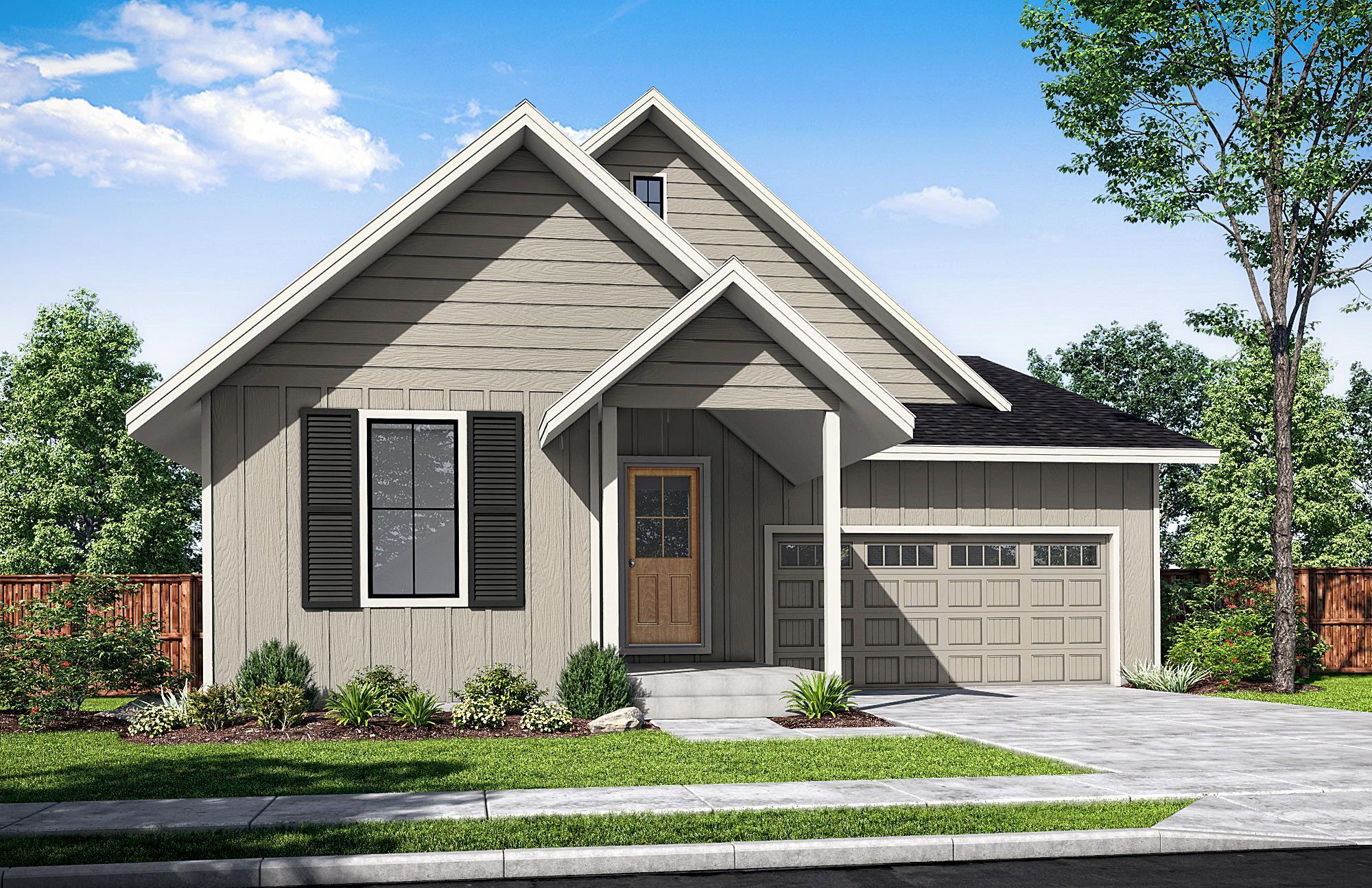 Exterior featured in The McNary-A By Woodhill Homes in Corvallis, OR