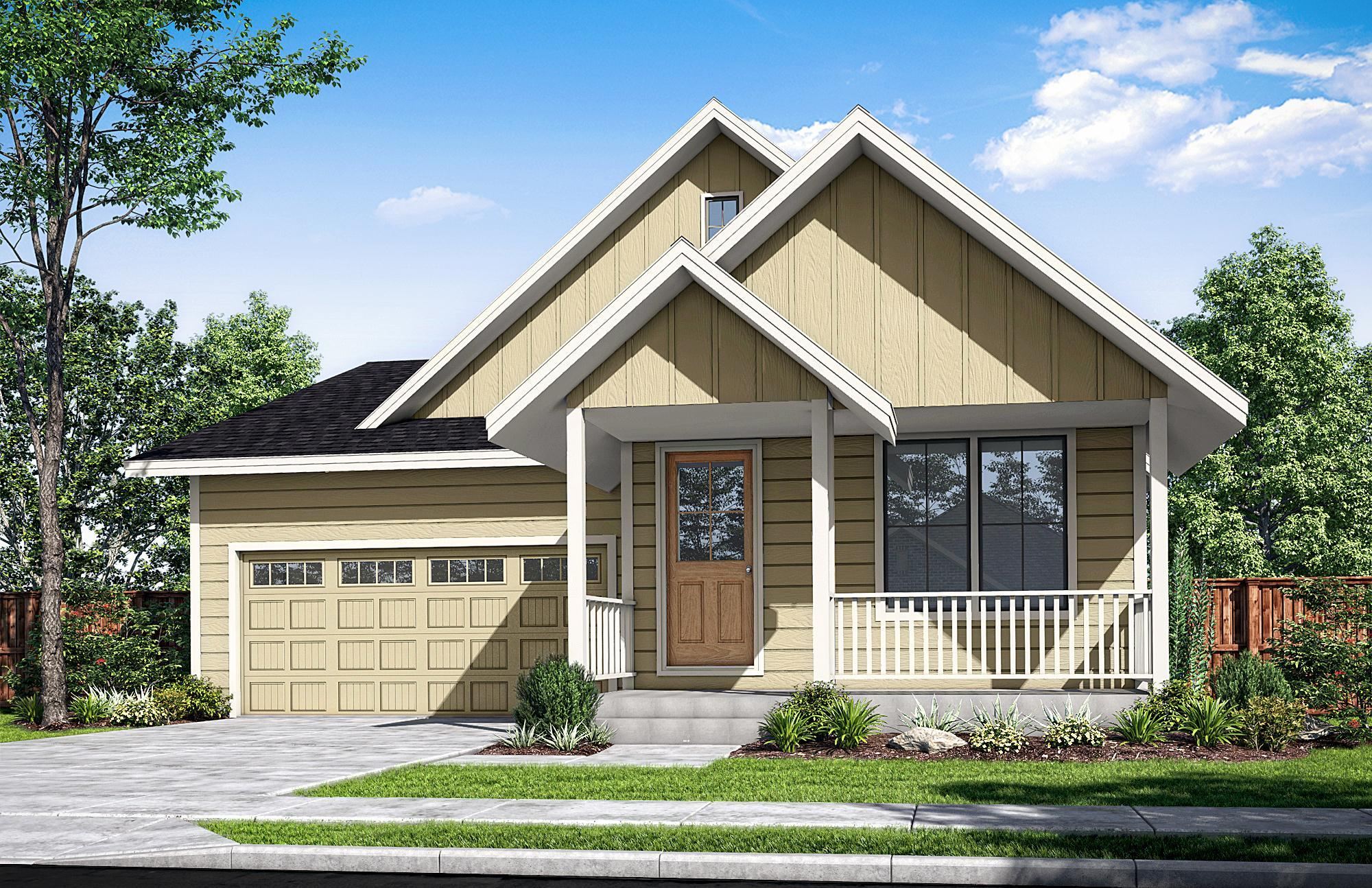 Exterior featured in The Buxton-A By Woodhill Homes in Corvallis, OR