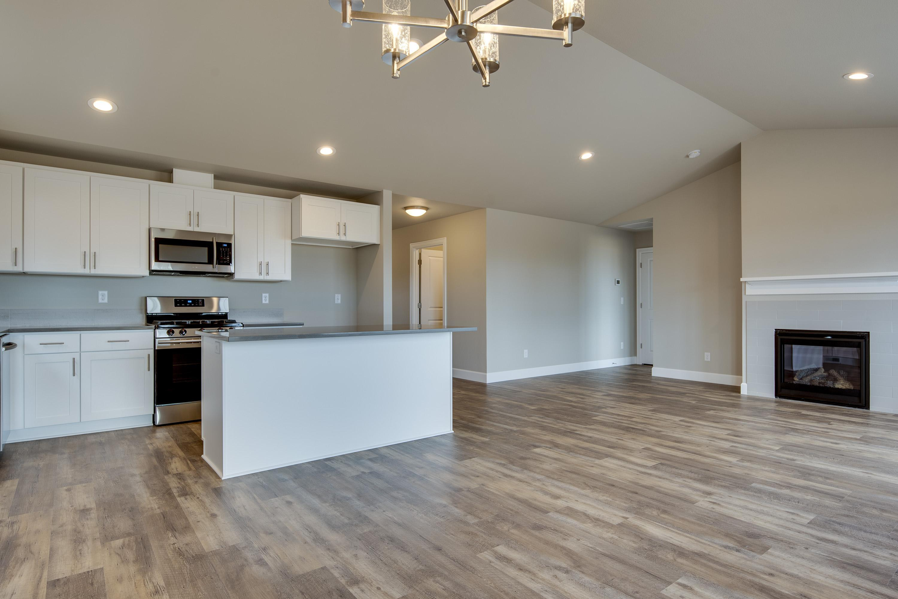 Kitchen featured in the Laredo A By Woodhill Homes in Central Oregon, OR