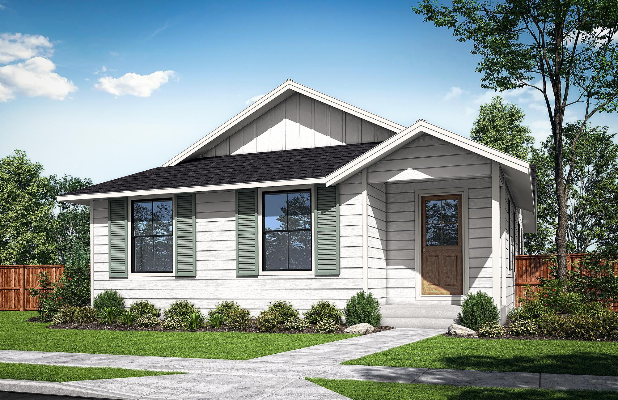 Exterior featured in the Cauthorn A By Woodhill Homes in Corvallis, OR