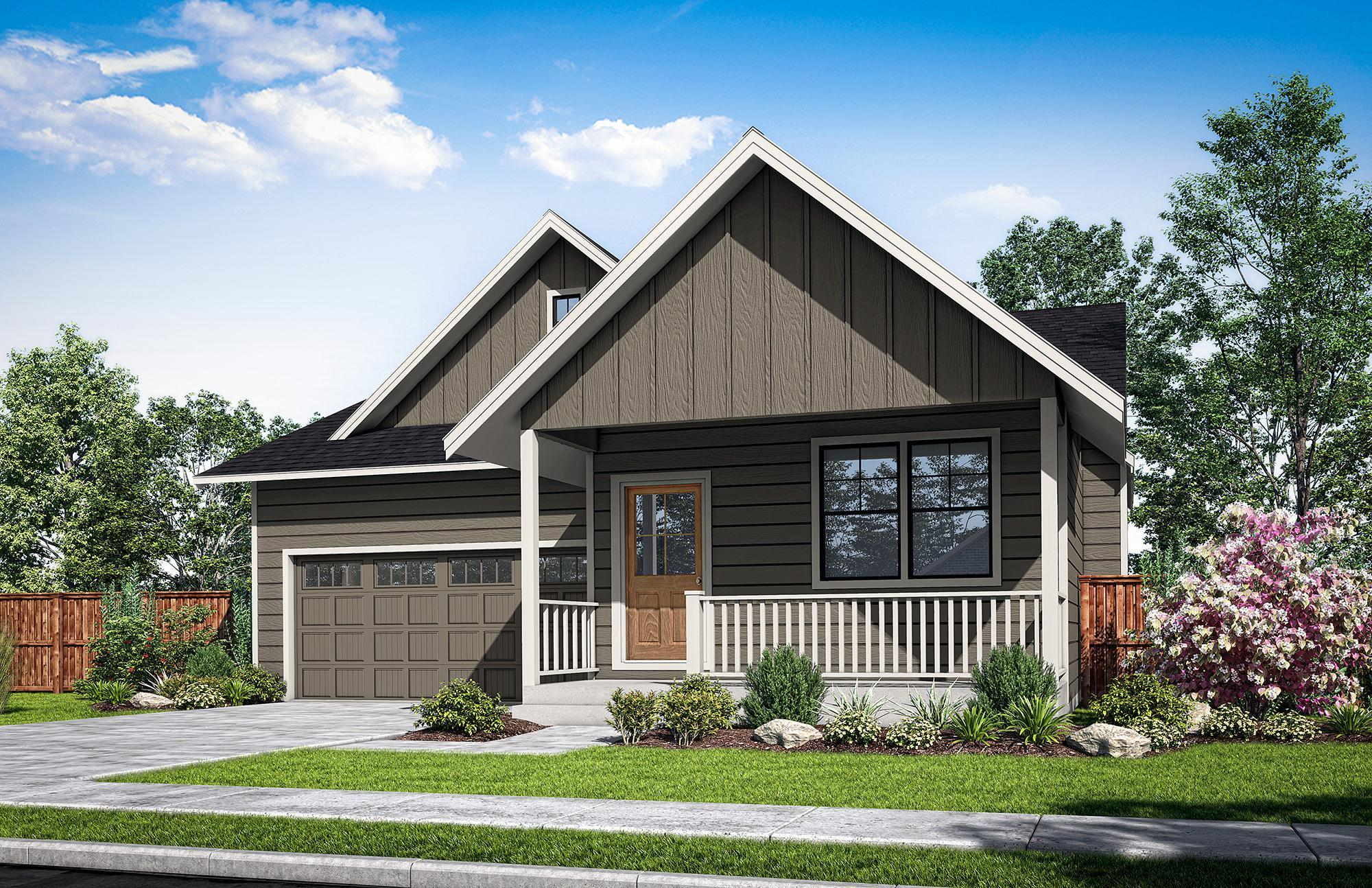 Exterior featured in The Buxton-C By Woodhill Homes in Corvallis, OR