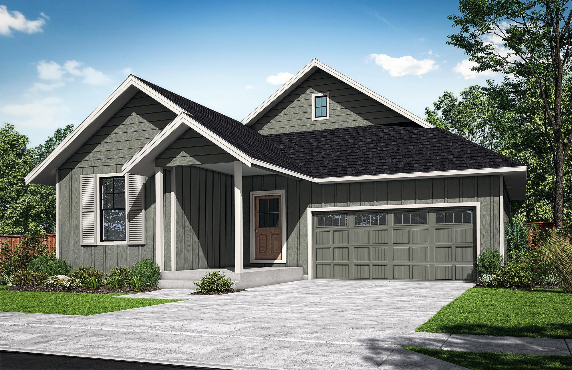 Exterior featured in The McNary-B By Woodhill Homes in Corvallis, OR