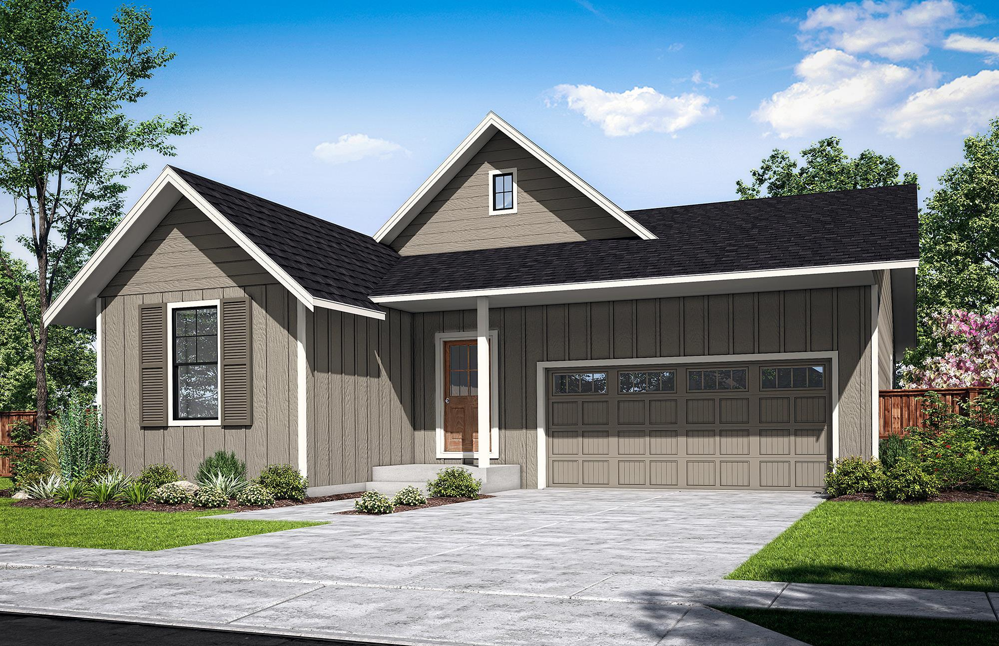 Exterior featured in The McNary-C By Woodhill Homes in Corvallis, OR