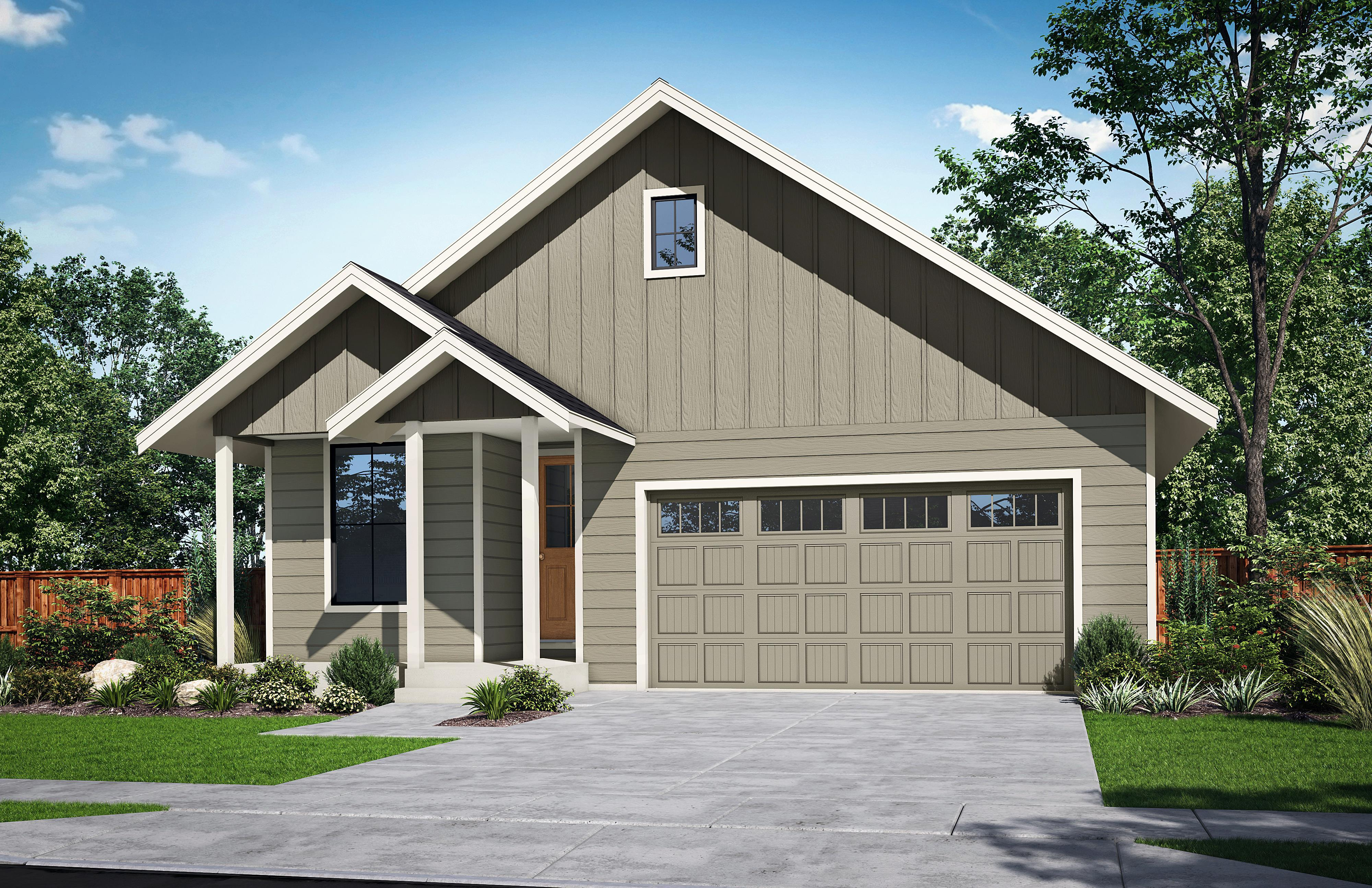 Exterior featured in The Finley-A By Woodhill Homes in Corvallis, OR