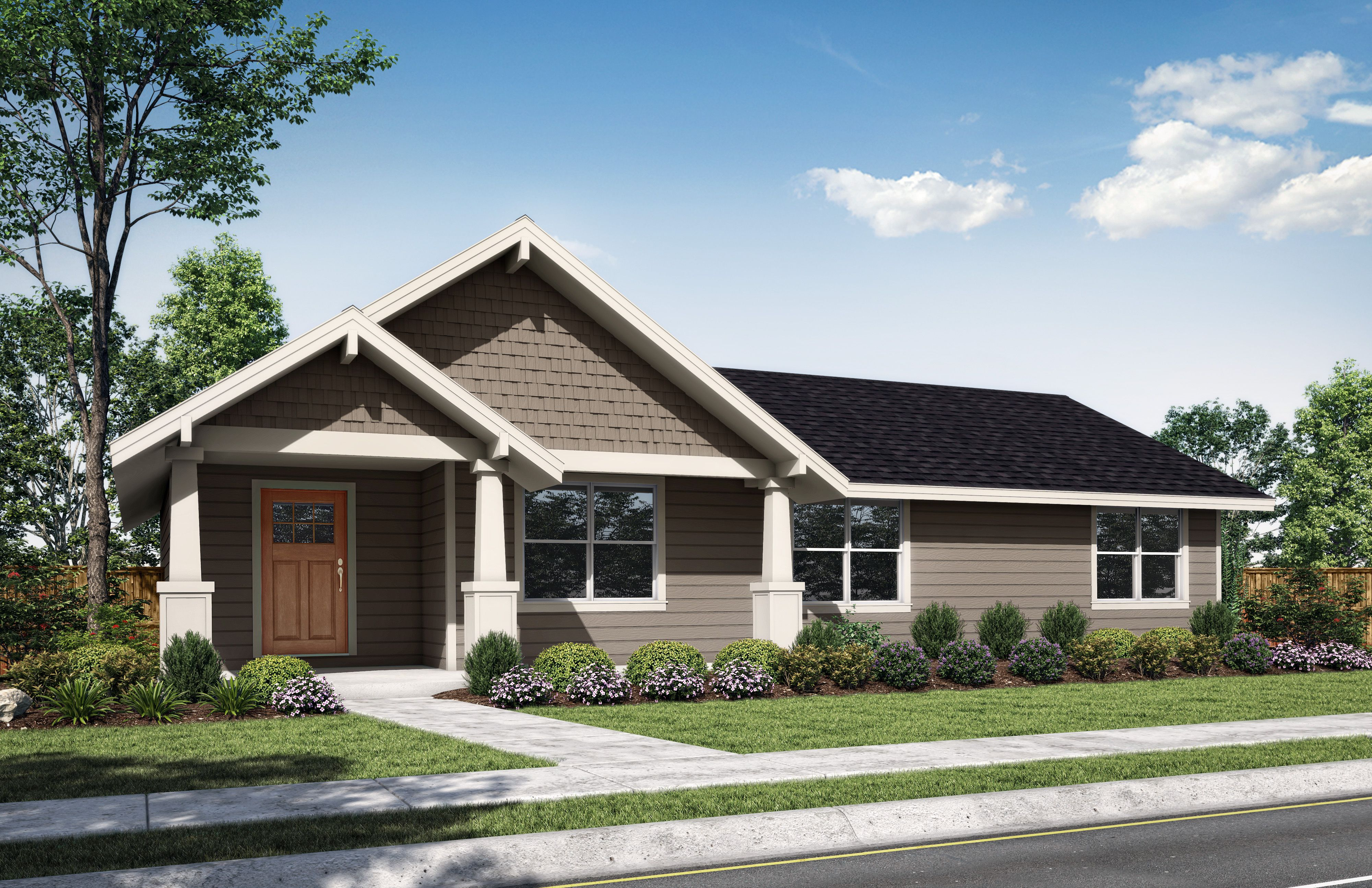 Exterior featured in the Durango-B By Woodhill Homes in Central Oregon, OR