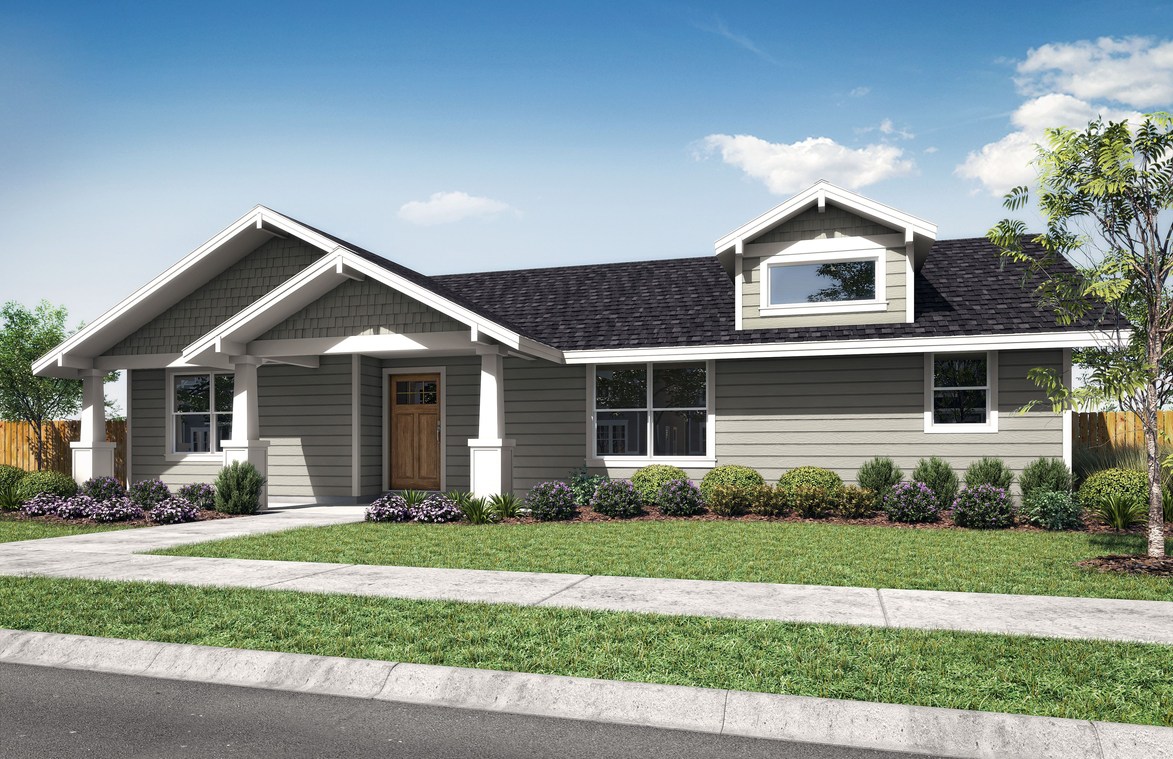 Exterior featured in the Juniper A By Woodhill Homes in Central Oregon, OR